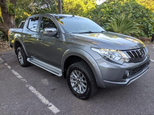 Used Mitsubishi Triton MQ MY17 GLS Double Cab Stuart Park, 2016 Mitsubishi Triton MQ MY17 GLS Double Cab Grey 5 Speed Sports Automatic Utility