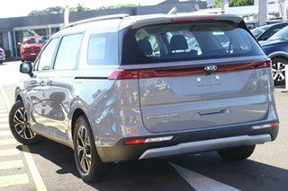 2021 Kia Carnival KA4 MY21 SI Silky Silver 8 Speed Sports Automatic Wagon.
