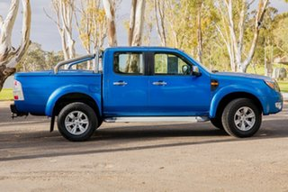 2010 Ford Ranger PK XLT (4x2) Blue 5 Speed Manual Dual Cab Pick-up