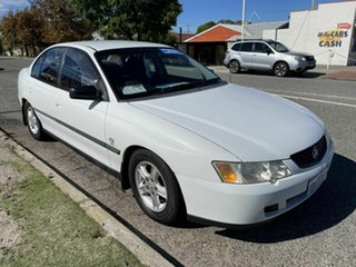 2004 Holden Commodore VY II Executive White 4 Speed Automatic Sedan.