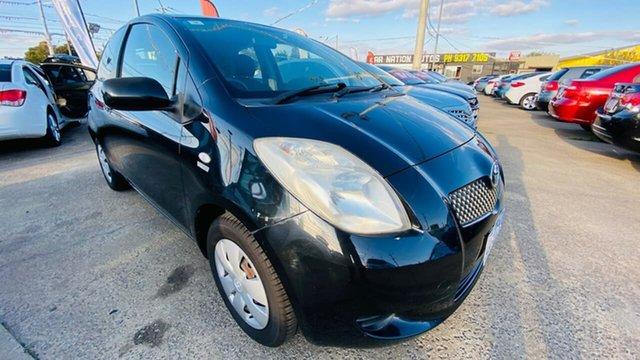 Used Toyota Yaris NCP90R YR Maidstone, 2006 Toyota Yaris NCP90R YR Black 5 Speed Manual Hatchback