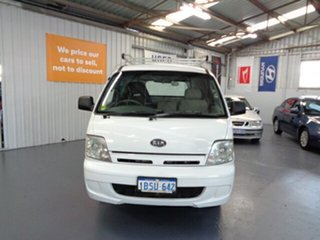 2004 Kia Pregio CT2 MY05 White 5 Speed Manual Van