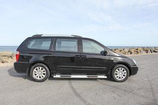 2008 Kia Grand Carnival VQ Premium Black 5 Speed Sports Automatic Wagon.
