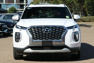 2021 Hyundai Palisade LX2.V1 MY21 Highlander 2WD White Cream 8 Speed Sports Automatic Wagon