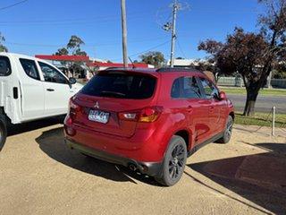 2014 Mitsubishi ASX Red Automatic Wagon.