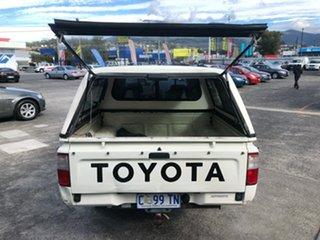 2003 Toyota Hilux RZN149R MY02 4x2 White 4 Speed Automatic Utility