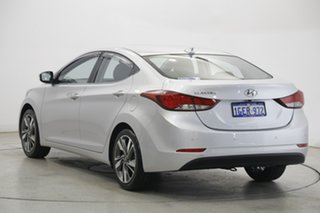 2014 Hyundai Elantra MD3 Premium Sleek Silver 6 Speed Sports Automatic Sedan