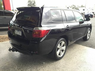 2009 Toyota Kluger GSU40R KX-S (FWD) Black 5 Speed Automatic Wagon