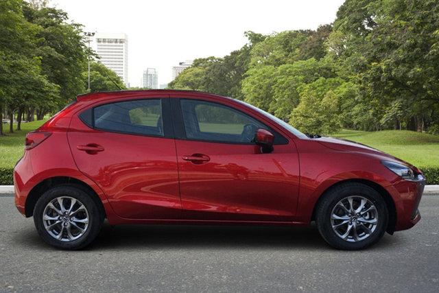 Demo Mazda 2 DJ2HAA G15 SKYACTIV-Drive Pure Paradise, 2021 Mazda 2 DJ2HAA G15 SKYACTIV-Drive Pure Soul Red 6 Speed Sports Automatic Hatchback