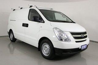 2011 Hyundai iLOAD TQ White 5 Speed Manual Van.