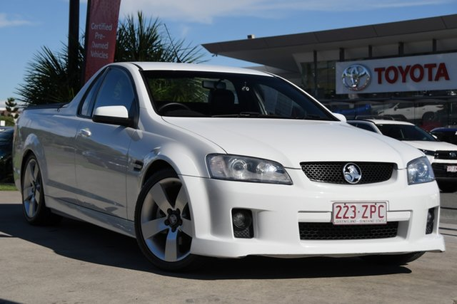Pre-Owned Holden Ute VE MY10 SS V North Lakes, 2010 Holden Ute VE MY10 SS V White 6 Speed Sports Automatic Utility