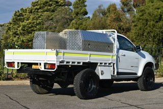 2013 Holden Colorado RG MY13 LX White 5 Speed Manual Cab Chassis