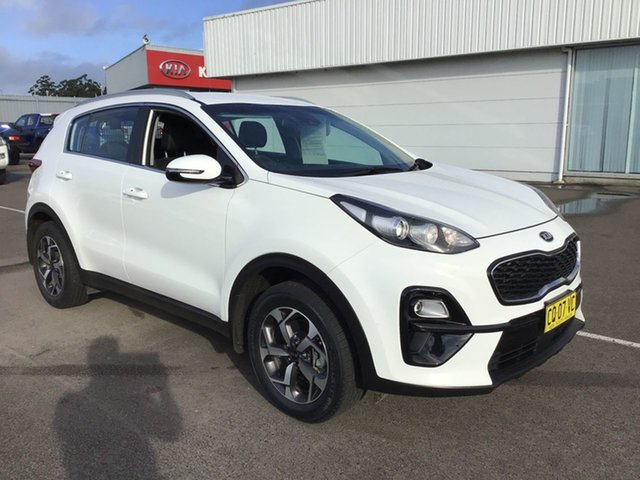 Used Kia Sportage QL MY18 Si 2WD Cardiff, 2018 Kia Sportage QL MY18 Si 2WD White 6 Speed Sports Automatic Wagon