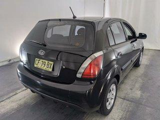 2011 Kia Rio UB MY12 SI Black 6 Speed Manual Hatchback