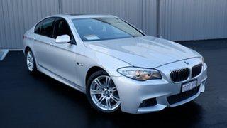 2011 BMW 5 Series F10 520d Steptronic Silver 8 Speed Sports Automatic Sedan.