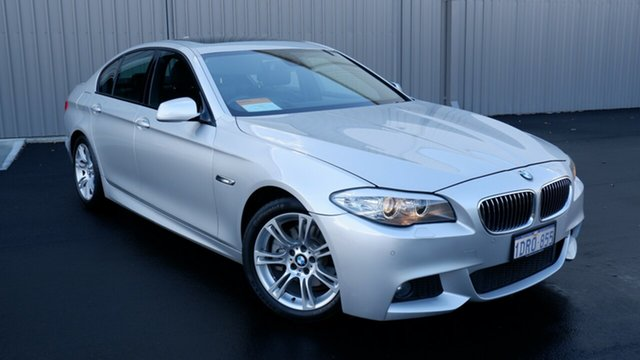 Used BMW 5 Series F10 520d Steptronic Maddington, 2011 BMW 5 Series F10 520d Steptronic Silver 8 Speed Sports Automatic Sedan