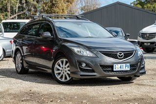 2011 Mazda 6 GH1052 MY12 Touring 46g 5 Speed Sports Automatic Wagon.