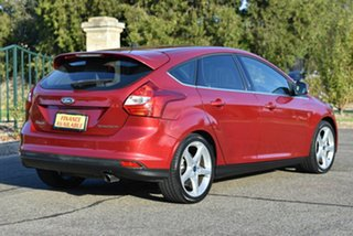 2012 Ford Focus LW Titanium PwrShift Red 6 Speed Sports Automatic Dual Clutch Hatchback