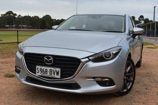 2018 Mazda 3 BN5438 SP25 SKYACTIV-Drive Astina Silver 6 Speed Sports Automatic Hatchback.