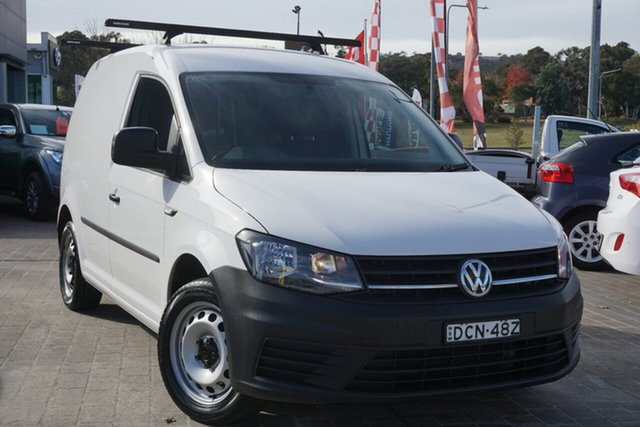Used Volkswagen Caddy 2K MY16 TSI220 SWB DSG Trendline Phillip, 2015 Volkswagen Caddy 2K MY16 TSI220 SWB DSG Trendline White 7 Speed Sports Automatic Dual Clutch