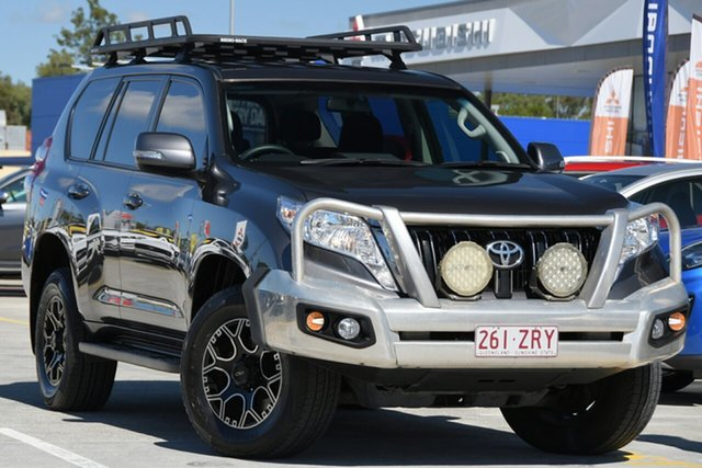 Used Toyota Landcruiser Prado GDJ150R GXL Aspley, 2016 Toyota Landcruiser Prado GDJ150R GXL Grey Metallic 6 Speed Sports Automatic Wagon
