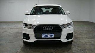 2016 Audi Q3 8U MY17 TFSI S Tronic White 6 Speed Sports Automatic Dual Clutch Wagon