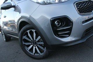 2017 Kia Sportage QL MY17 SLi 2WD Silver, Chrome 6 Speed Sports Automatic Wagon.