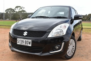 2014 Suzuki Swift FZ MY14 GL Navigator Black 5 Speed Manual Hatchback.