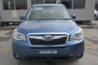 2014 Subaru Forester S4 MY14 2.5i Lineartronic AWD Luxury Blue 6 Speed Constant Variable Wagon.