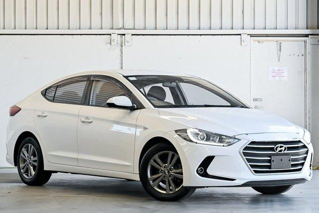Used Hyundai Elantra AD MY18 Active Laverton North, 2018 Hyundai Elantra AD MY18 Active White 6 Speed Sports Automatic Sedan