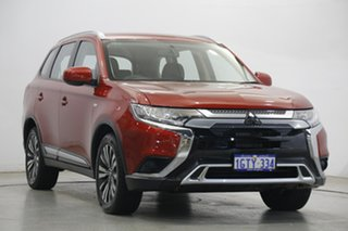 2018 Mitsubishi Outlander ZL MY19 ES AWD Red 6 Speed Constant Variable Wagon