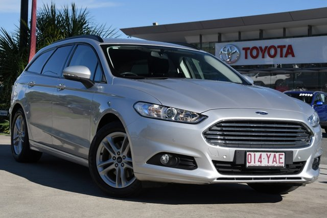 Pre-Owned Ford Mondeo MD 2017.50MY Ambiente North Lakes, 2017 Ford Mondeo MD 2017.50MY Ambiente Silver 6 Speed Sports Automatic Hatchback