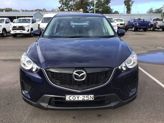 2013 Mazda CX-5 KE1071 MY13 Maxx SKYACTIV-MT Blue 6 Speed Manual Wagon.