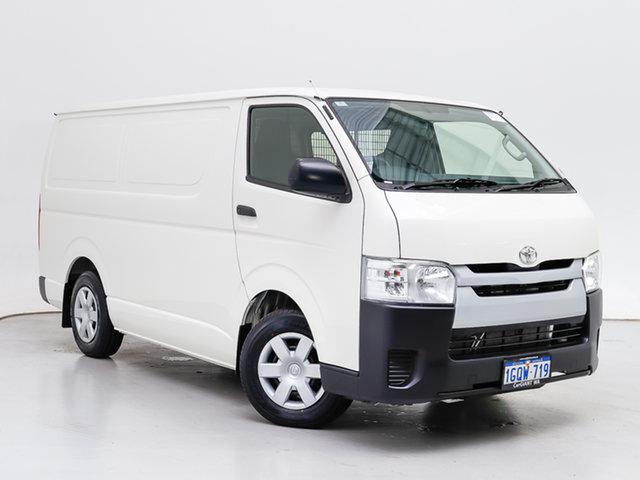 Used Toyota HiAce KDH201R MY16 LWB, 2018 Toyota HiAce KDH201R MY16 LWB White 4 Speed Automatic Van
