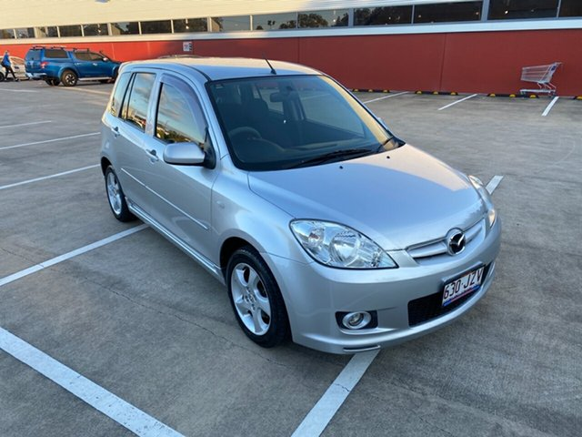 Used Mazda 2 Morayfield, 2007 Mazda 2 GENKIDY MY05 UP Silver 4 Speed Auto Active Select Hatchback