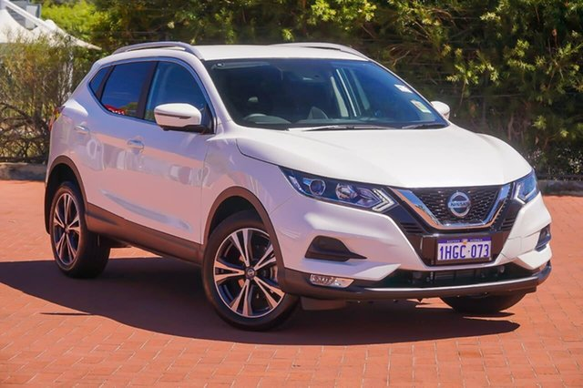 Used Nissan Qashqai J11 Series 3 MY20 ST-L X-tronic Gosnells, 2020 Nissan Qashqai J11 Series 3 MY20 ST-L X-tronic White 1 Speed Constant Variable Wagon