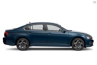2021 Volkswagen Passat 3C (B8) MY21 140TSI DSG Business Blue 7 Speed Sports Automatic Dual Clutch