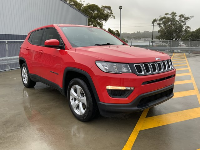 Used Jeep Compass M6 MY18 Sport FWD Cardiff, 2017 Jeep Compass M6 MY18 Sport FWD Red 6 Speed Automatic Wagon