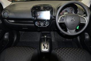2021 Mitsubishi Mirage LB MY21 ES Wine Red 1 Speed Constant Variable Hatchback