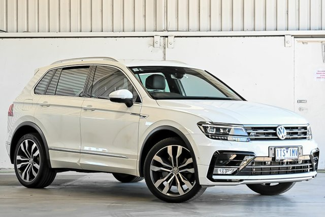 Used Volkswagen Tiguan 5N MY17 140TDI DSG 4MOTION Highline Laverton North, 2017 Volkswagen Tiguan 5N MY17 140TDI DSG 4MOTION Highline White 7 Speed