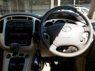 2004 Toyota Kluger MCU28R CVX AWD Red 5 Speed Automatic Wagon