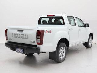 2018 Isuzu D-MAX TF MY18 LS-M HI-Ride (4x4) White 6 Speed Automatic Crew Cab Utility