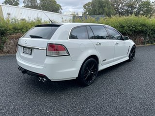 2013 Holden Commodore VF MY14 SS V Sportwagon Redline White 6 Speed Sports Automatic Wagon