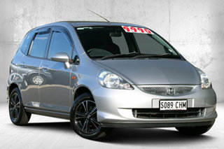 2006 Honda Jazz GD MY06 GLi Alabaster Silver 1 Speed Constant Variable Hatchback.