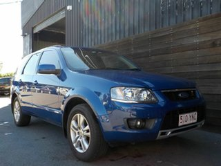 2010 Ford Territory SY MkII TS AWD Blue 6 Speed Sports Automatic Wagon.