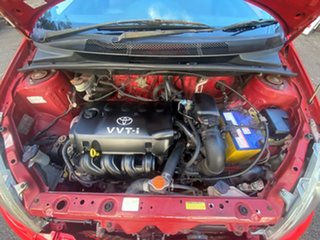 1999 Toyota Echo NCP10R Red 5 Speed Manual Hatchback