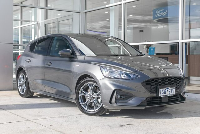 Used Ford Focus ST-Line Ferntree Gully, 2020 Ford Focus ST-Line Grey 8 Speed Automatic Hatchback