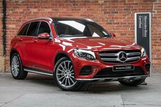 2016 Mercedes-Benz GLC-Class X253 807MY GLC250 9G-Tronic 4MATIC Hyacinth Red 9 Speed.
