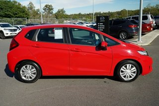 2016 Honda Jazz GF MY17 VTi Red 1 Speed Constant Variable Hatchback