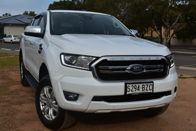 Used Ford Ranger PX MkIII 2019.00MY XLT Hi-Rider St Marys, 2018 Ford Ranger PX MkIII 2019.00MY XLT Hi-Rider White 6 Speed Sports Automatic Utility